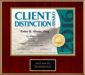 2016 client distinction